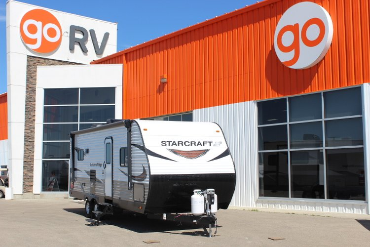 2019 Starcraft AUTUMN RIDGE OUTFITTER 23RLS Only $96 biweekly OAC. New travel trailer, sleeps 5-6!  for sale in Leduc, Alberta