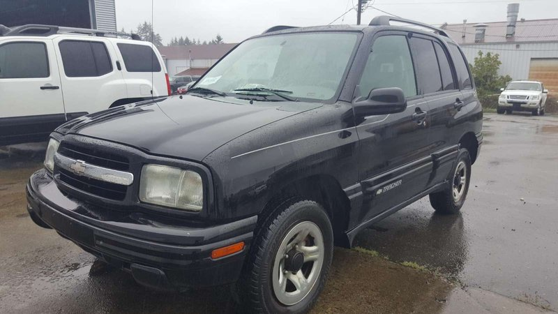 2003 Chevrolet Tracker for sale in Campbell River, British Columbia