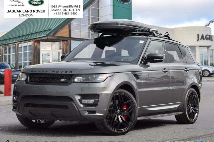 New 2017 Land Rover Range Rover Sport 5 0L V8 Supercharged