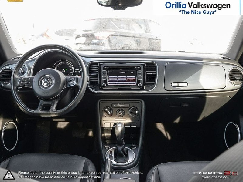 2015 Volkswagen Beetle Coupe for sale in Orillia, Ontario