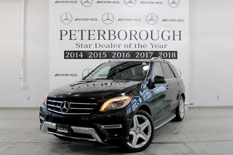 2015 Mercedes-Benz ML for sale in Peterborough, Ontario