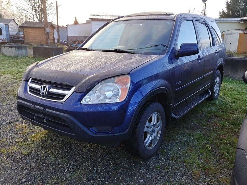 2002 Honda CR-V for sale in Campbell River, British Columbia