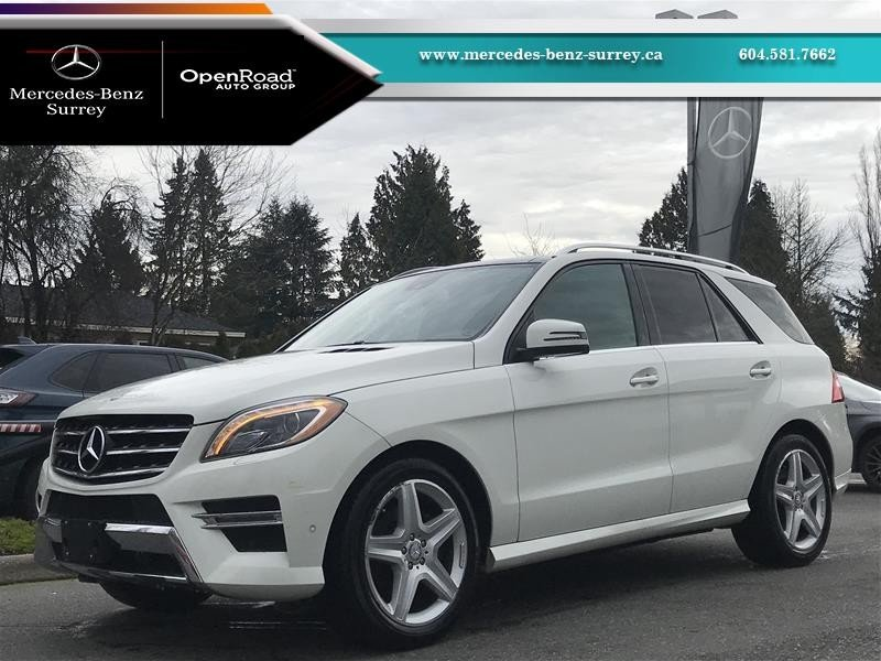 2013 Mercedes-Benz ML for sale in Surrey, British Columbia