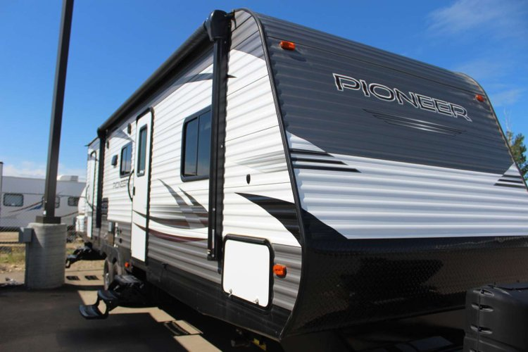 2019 Heartland Pioneer BH270 Only $122 Biweekly OAC. New Travel Trailer, sleeps 10 with Bunk Beds! for sale in Red Deer, Alberta