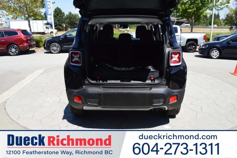 2017 Jeep Renegade for sale in Richmond, British Columbia