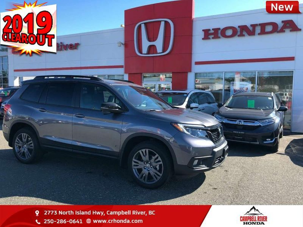 2019 Honda Passport For Sale In Campbell River