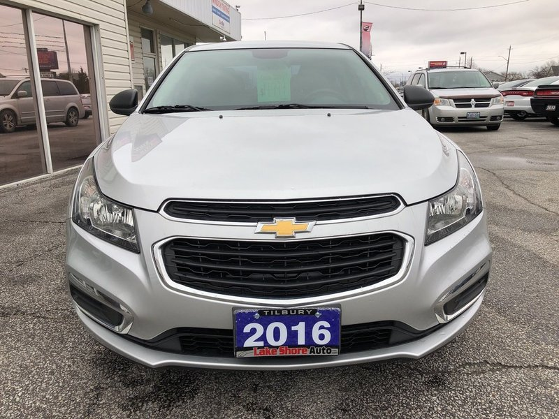 2016 Chevrolet CRUZE LIMITED for sale in Tilbury, Ontario