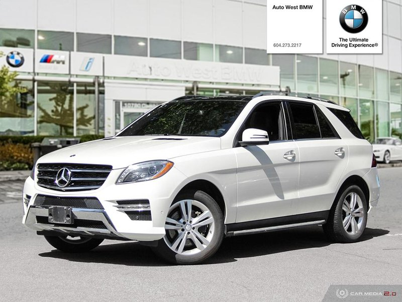 2013 Mercedes-Benz M-Class for sale in Richmond, British Columbia
