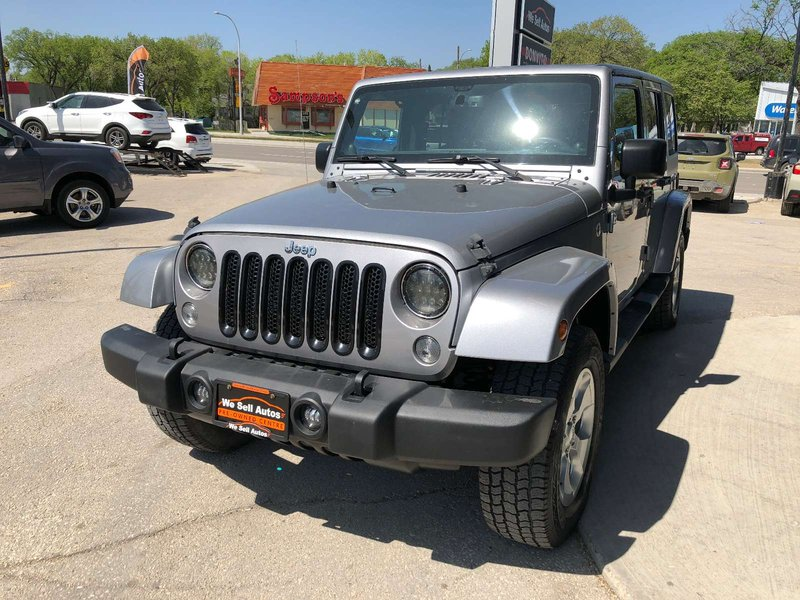 2014 Jeep Wrangler Unlimited for sale in Winnipeg, Manitoba