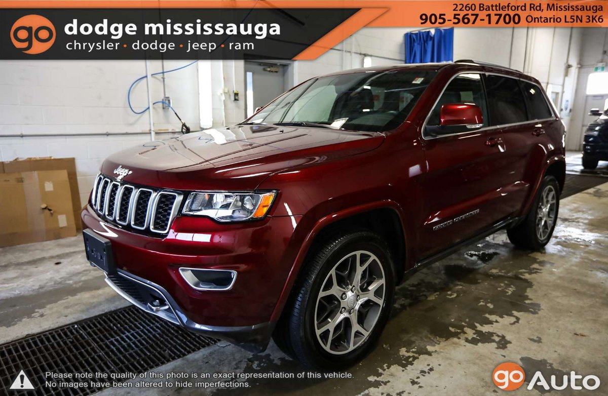 2018 Jeep Grand Cherokee For Sale In Mississauga Ontario