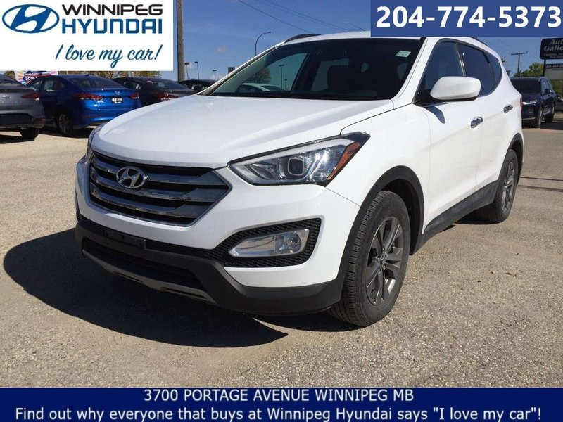 2013 Hyundai Santa Fe for sale in Winnipeg, Manitoba