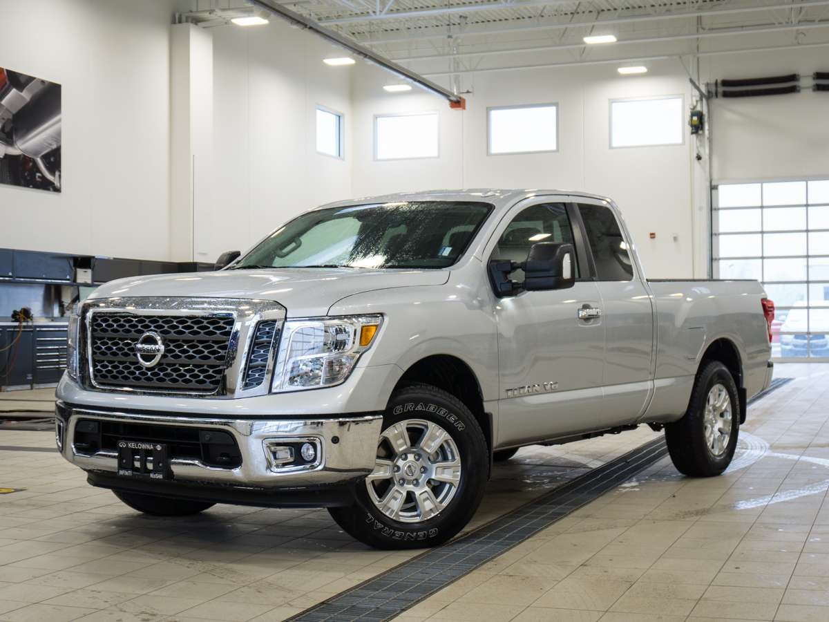 2018 Nissan Titan King Cab SV With Premium Package