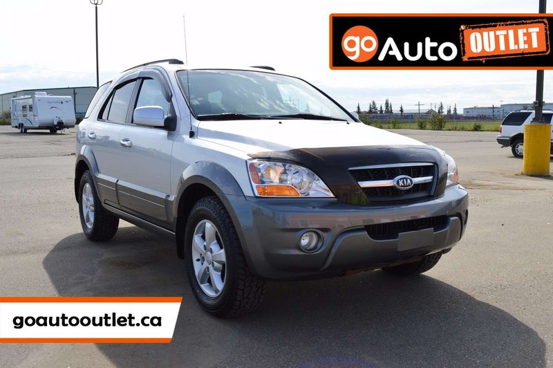 Silver 2009 Kia Sorento LX Luxury for sale in Leduc, Alberta