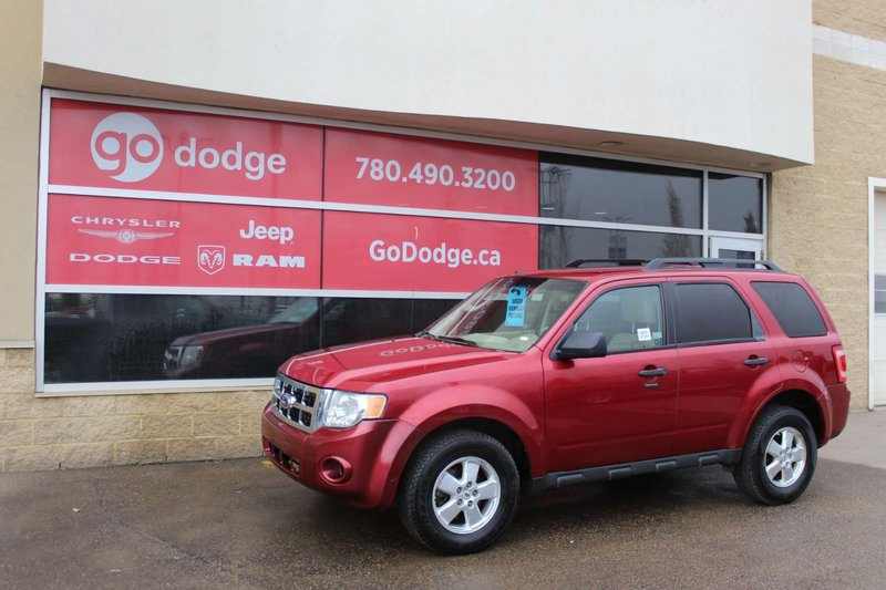 Red 2009 Ford Escape XLT for sale in Edmonton, Alberta