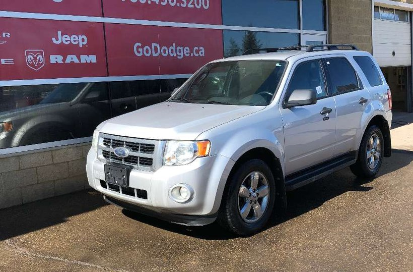 Silver 2009 Ford Escape XLT for sale in Edmonton, Alberta
