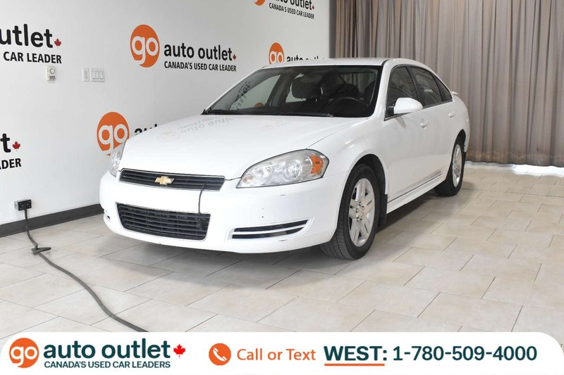 White 2011 Chevrolet Impala LT for sale in Edmonton, Alberta