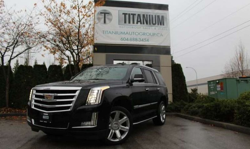 2017 Cadillac Escalade for sale in Langley, British Columbia
