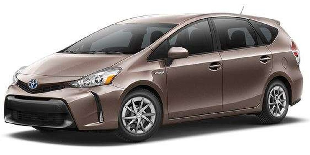 2018 Toyota Prius V Luxury Package With Navigation And Leather