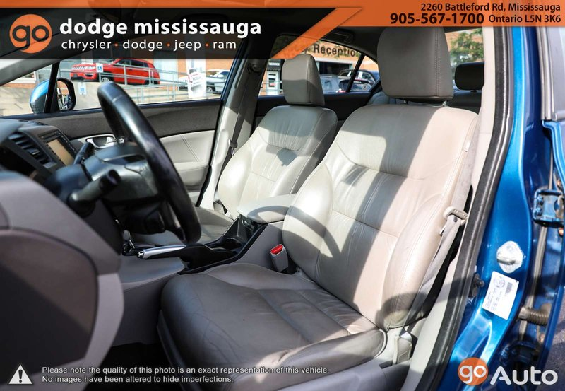 2012 Honda Civic Sedan for sale in Mississauga, Ontario