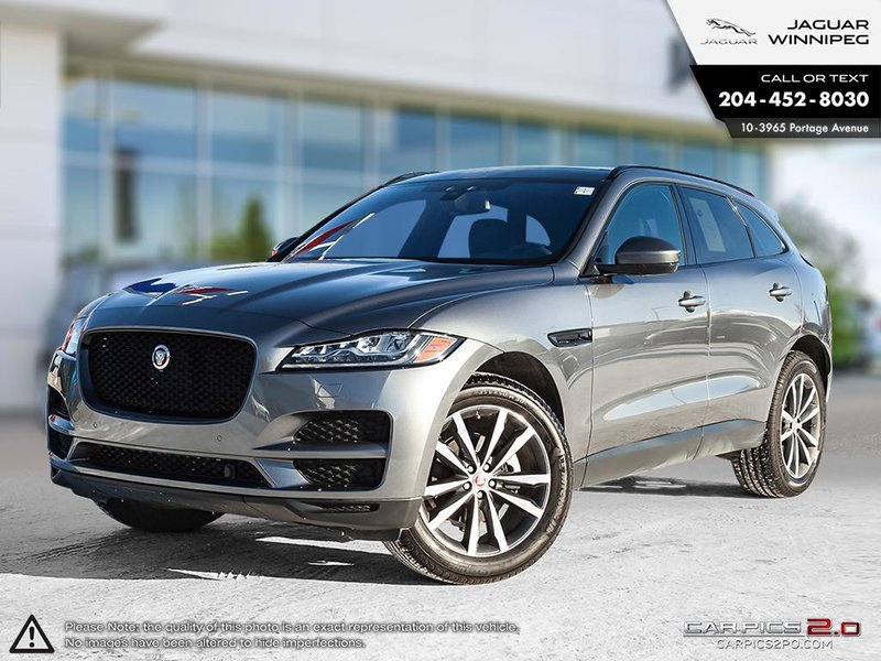2018 Jaguar F-PACE for sale in Winnipeg, Manitoba