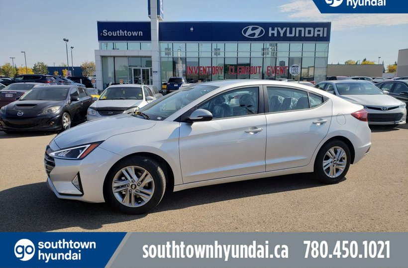 Platinum 2019 Hyundai Elantra Preferred for sale in Edmonton, Alberta