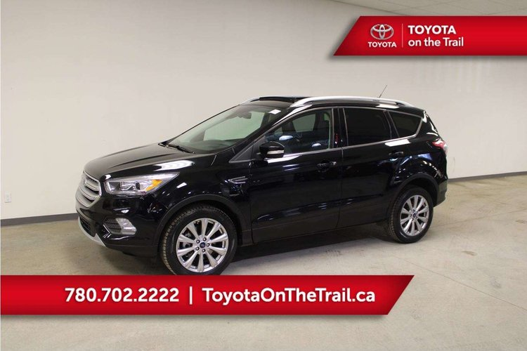Ford Escape Titanium >> Used 2018 Ford Escape Titanium 19ra1562b Edmonton Alberta Go Auto