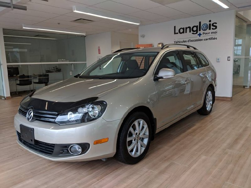 2013 Volkswagen Golf Wagon for sale in L'Ange-Gardien, Quebec