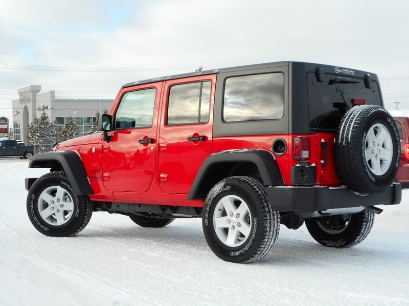 2018 Jeep WRANGLER JK UNLIMITED for sale in Cold Lake, Alberta