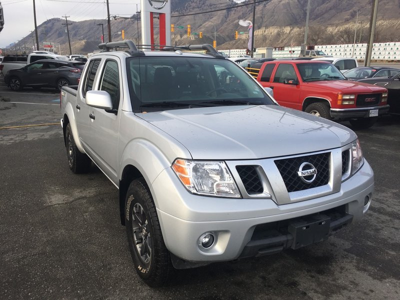 2018 Nissan Frontier for sale in Kamloops, British Columbia