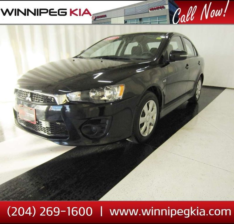 2017 Mitsubishi Lancer for sale in Winnipeg, Manitoba