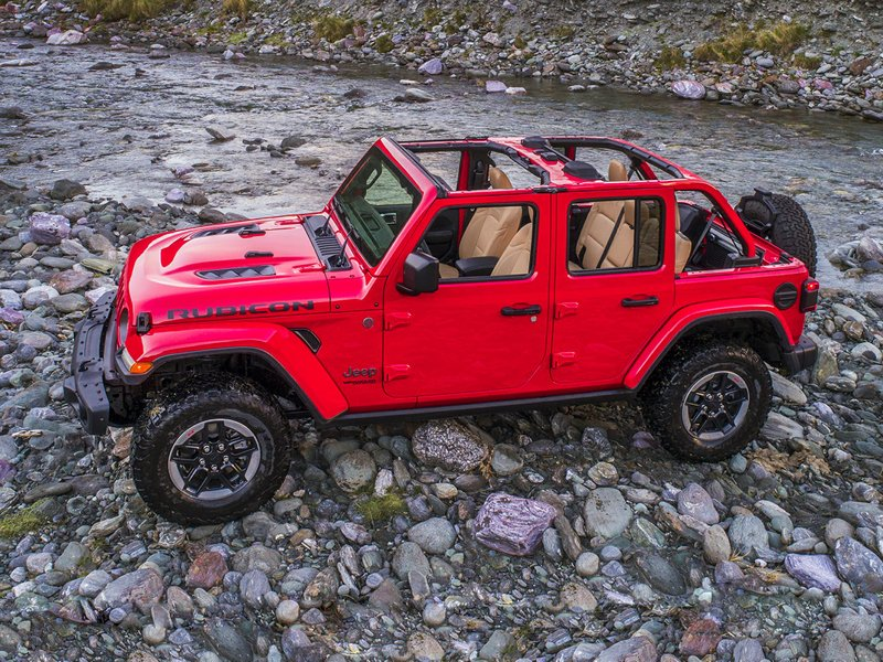 2018 Jeep Wrangler Unlimited for sale in Midland, Ontario