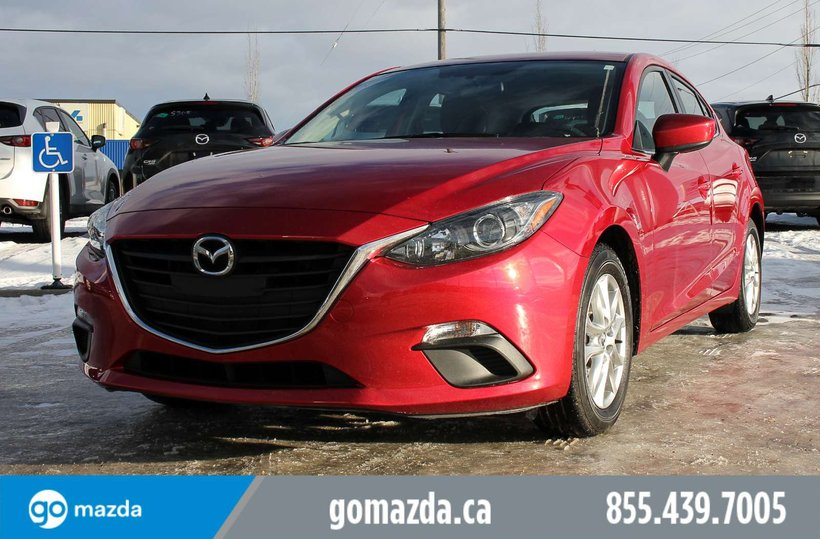 Red 2018 Mazda Mazda3 Sport GS for sale in Edmonton, Alberta