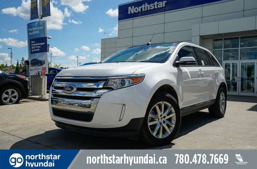White 2014 Ford Edge Limited for sale in Edmonton, Alberta