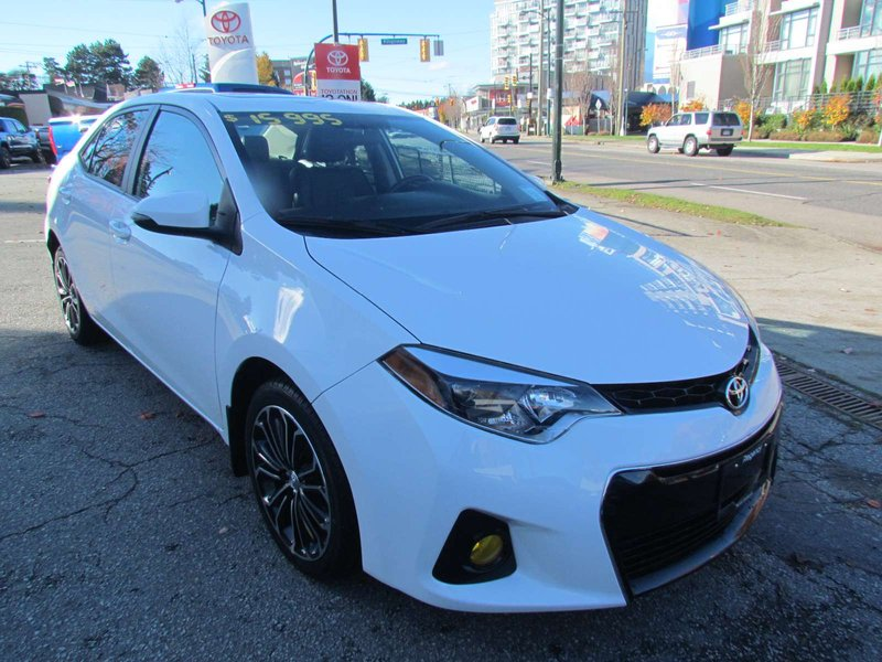 2015 Toyota Corolla for sale in Vancouver, British Columbia