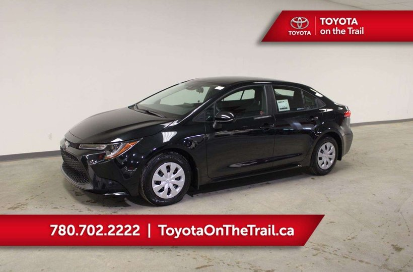 Black 2020 Toyota Corolla L for sale in Edmonton, Alberta