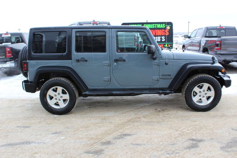 2014 Jeep Wrangler Unlimited for sale in Peace River, Alberta