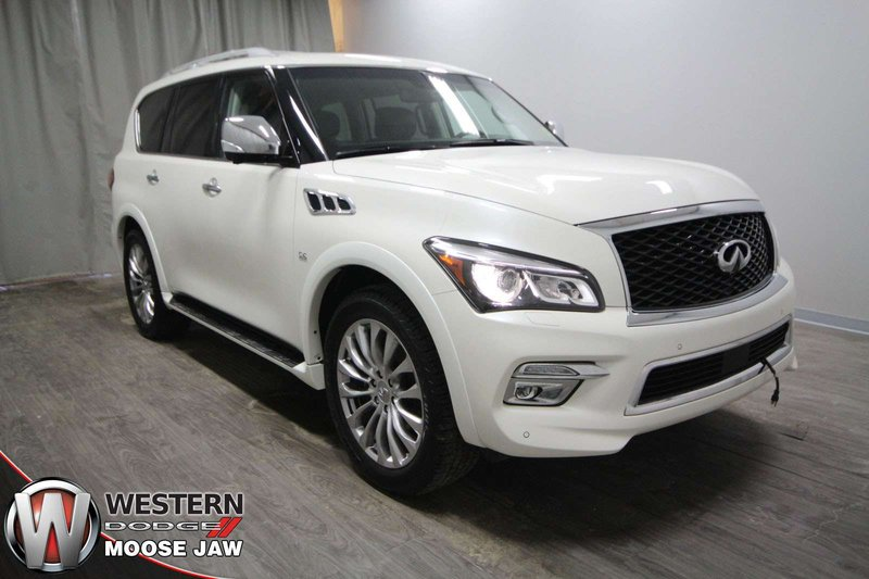 2017 Infiniti QX80 for sale in Moose Jaw, Saskatchewan