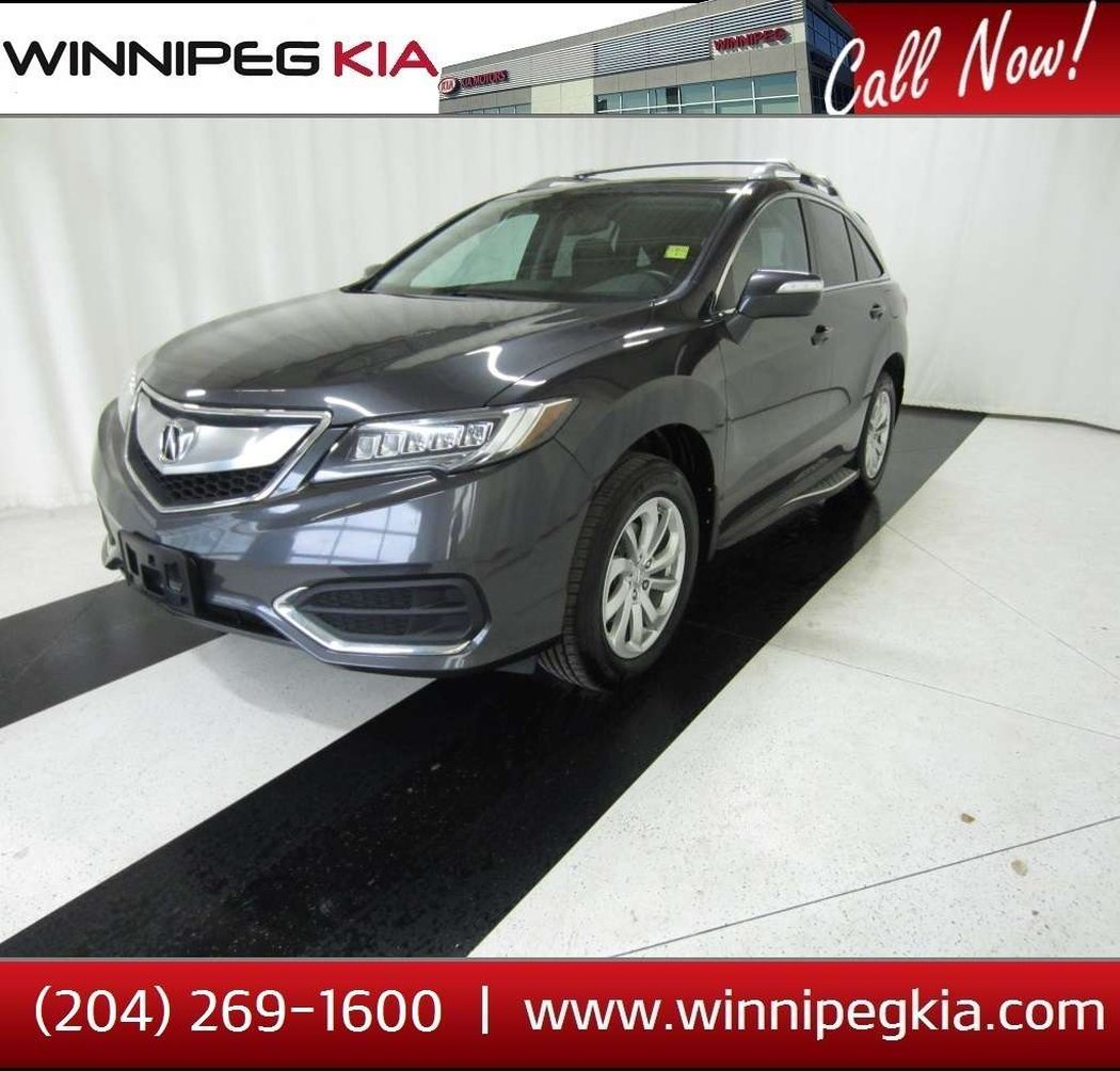 2016 Acura RDX For Sale In Winnipeg