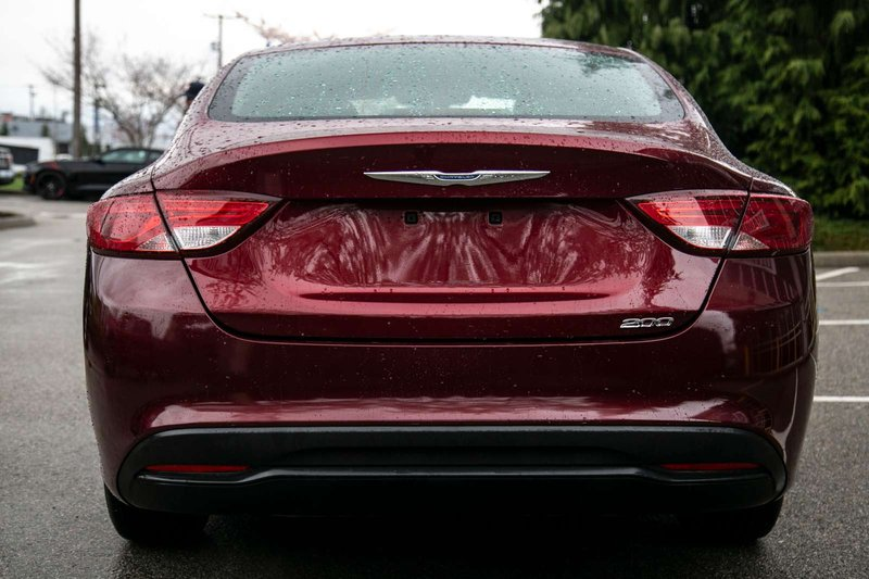 2015 Chrysler 200 for sale in Langley, British Columbia