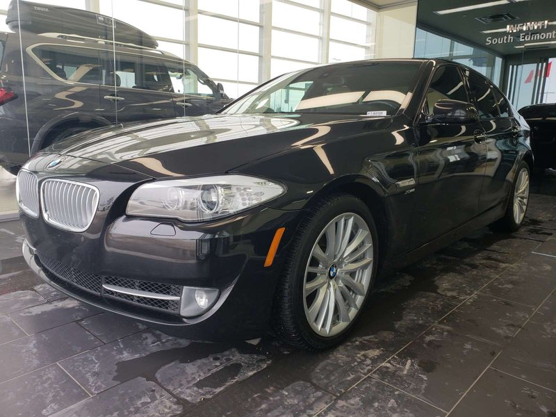 2012 BMW 5 Series for sale in Edmonton, Alberta