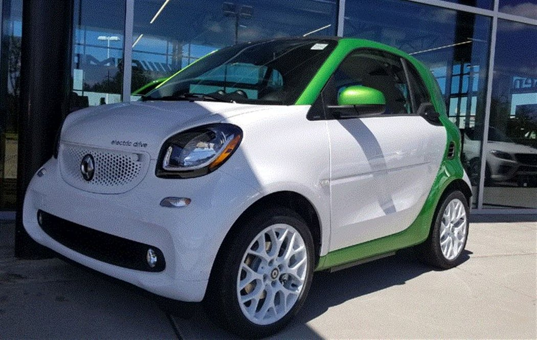 2018 Smart Fortwo Electric Drive For In Calgary Alberta