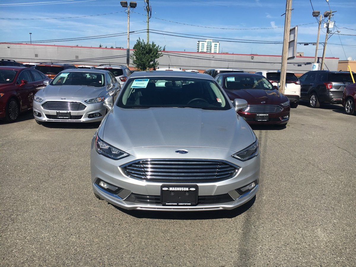 2017 Ford Fusion for sale in Abbotsford, British Columbia