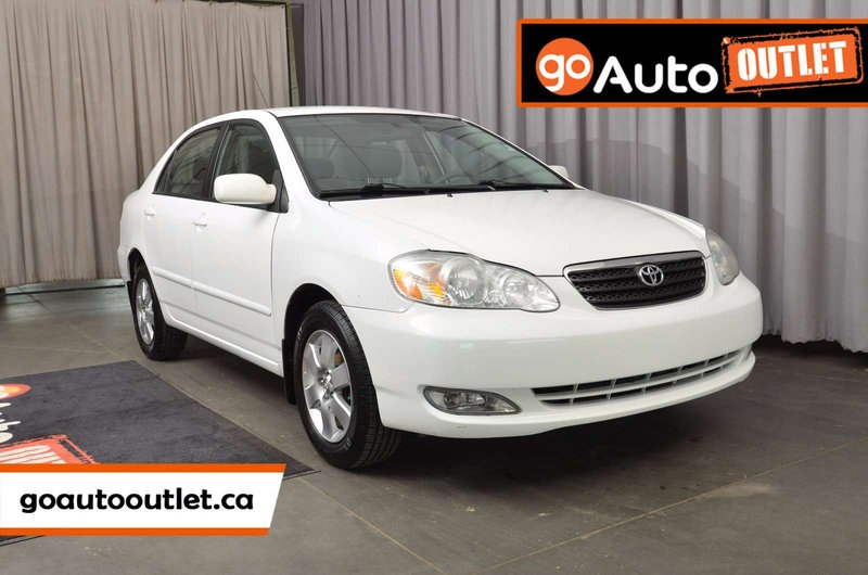 White 2006 Toyota Corolla LE for sale in Leduc, Alberta