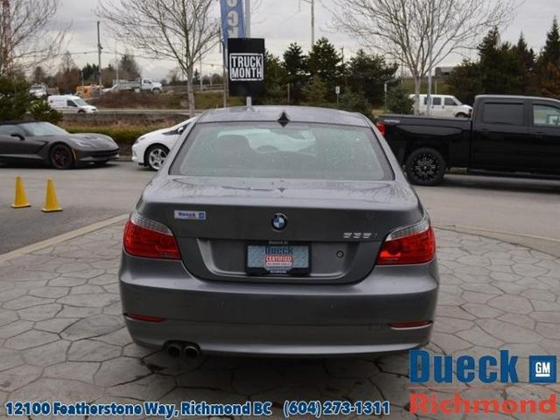 2010 BMW 5 Series for sale in Richmond, British Columbia