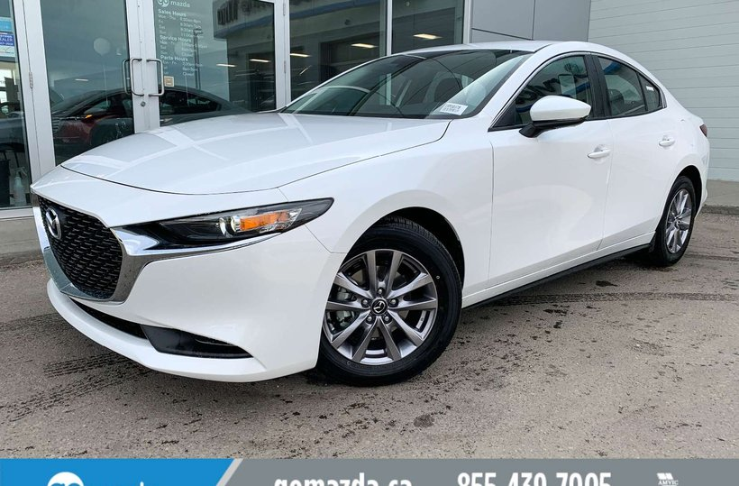 White 2019 Mazda Mazda3 GX for sale in Edmonton, Alberta