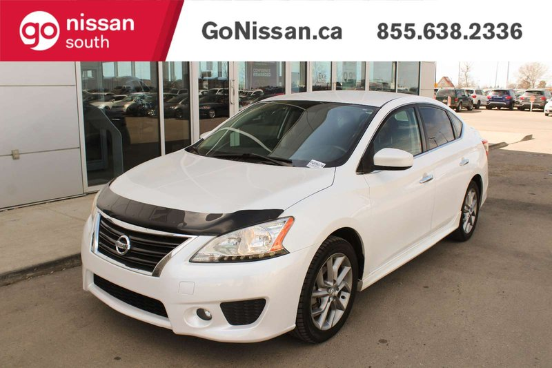 White 2013 Nissan Sentra SV for sale in Edmonton, Alberta