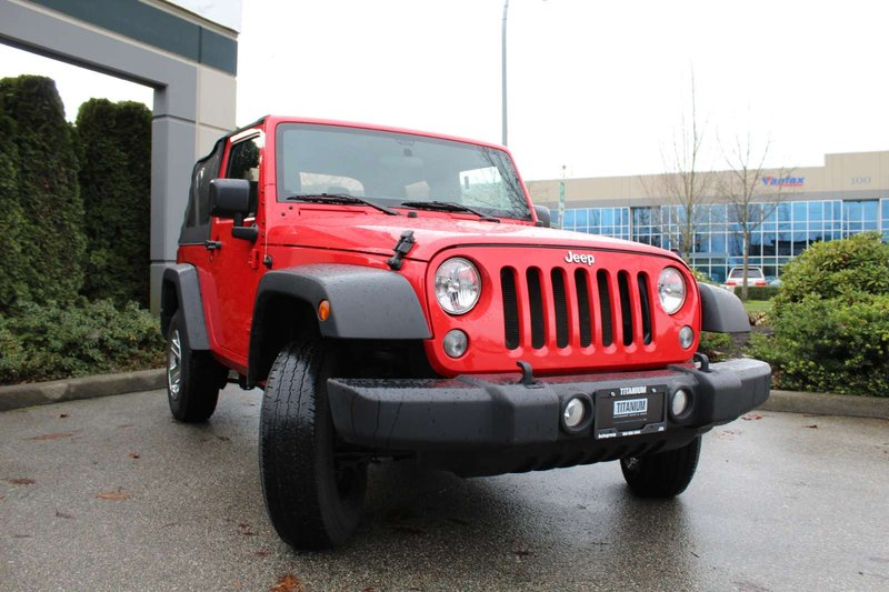 2015 Jeep Wrangler for sale in Langley, British Columbia