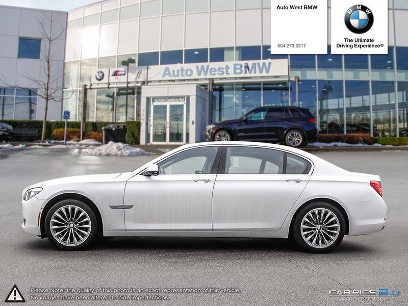 2012 BMW 7 Series for sale in Richmond, British Columbia
