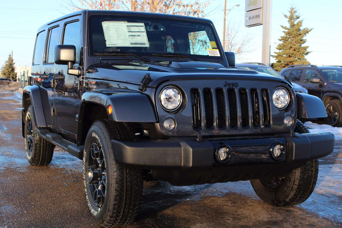 2018 Jeep Wrangler Jk Unlimited For Sale In Edmonton Running Boards