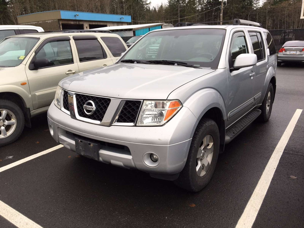 2005 nissan pathfinder for sale in campbell river. Black Bedroom Furniture Sets. Home Design Ideas